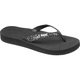 Reef Star Cushion Flips Women, black/gunmetal